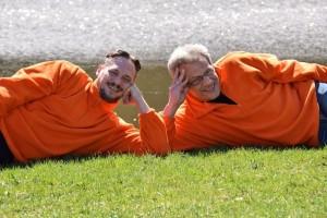 Ronny Rahmsdorf und Stefan Kiszko von BSK Kiszko